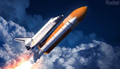 Rocket, মহাকাশ যান