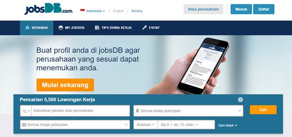 5 Situs Untuk Mendapatkan Informasi Lowongan Kerja 4
