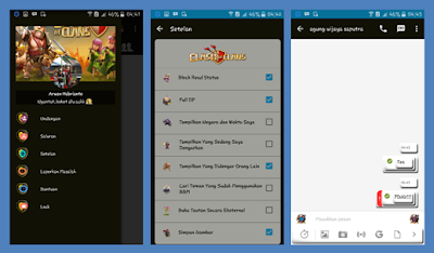 BBM Mod COC Themes Full Features New V.2.13.0.26 Apk