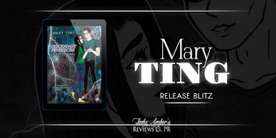 Release Blitz: Descendant Prophecies Coloring Book by Mary Ting