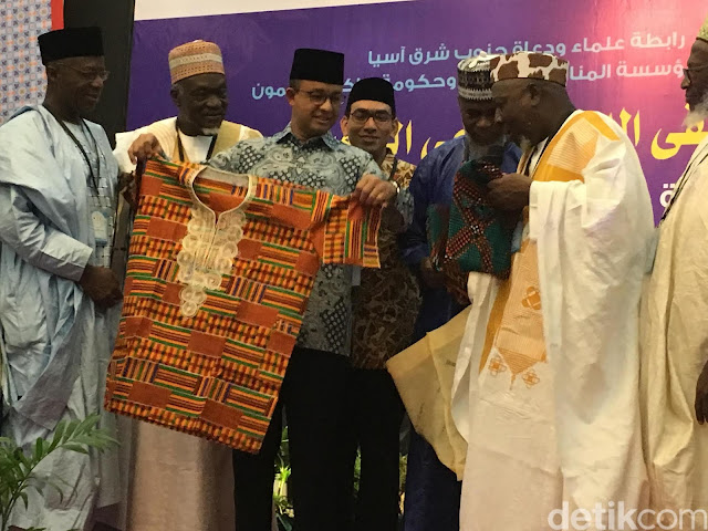 KPK Minta Anies Laporkan Hadiah dari Pendakwah Ghana