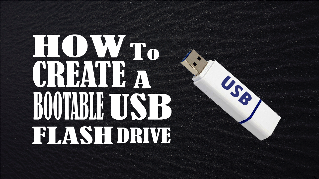 How To Create A Bootable Usb Flash Drive In Urdu Hindi Justujo
