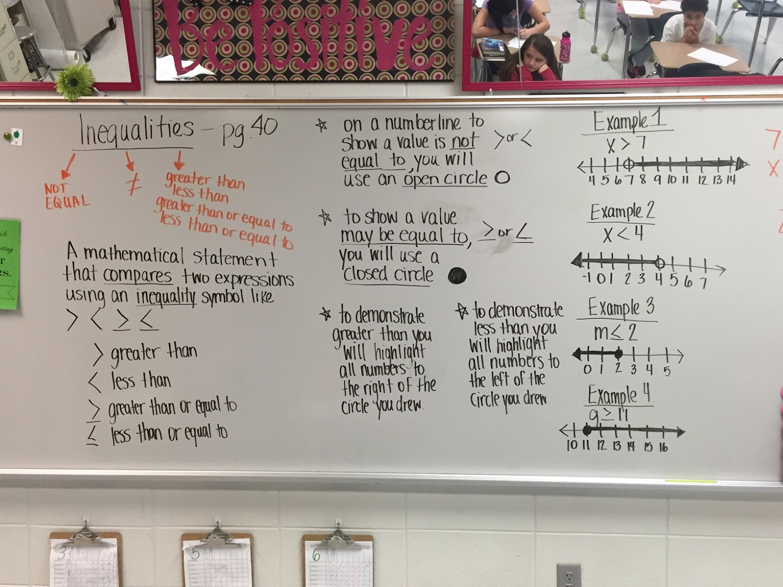 Mrs White S 6th Grade Math Blog Graphing Inequalities