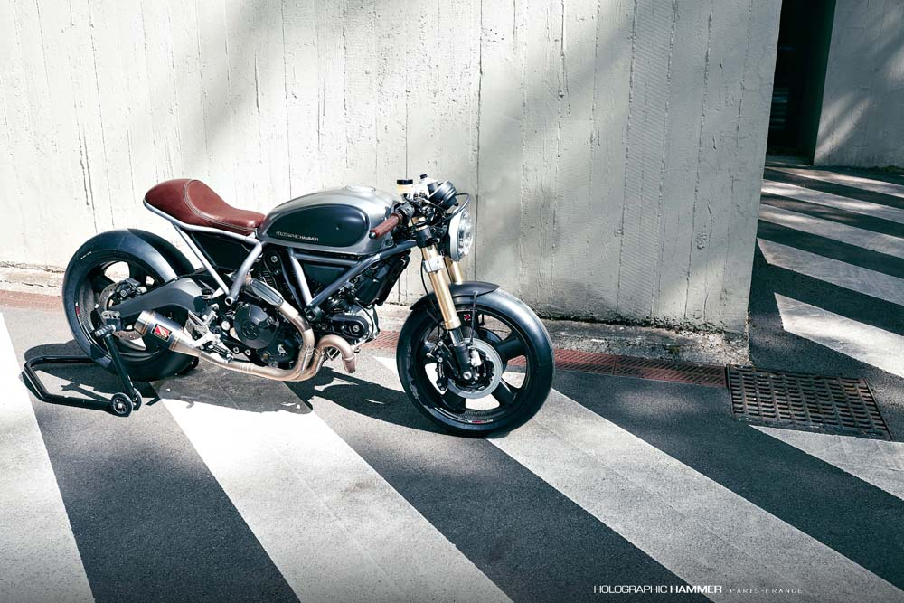 Specialwheells Ducati Scrambler Cafè Racer By Holographic Hammer