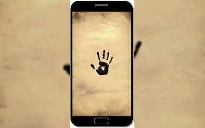 Skyrim Marque Noire - Fond d'Écran en FHD pour Mobile