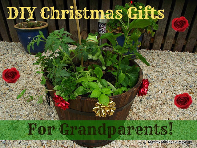 Homemade Christmas Gifts for Grandparents!