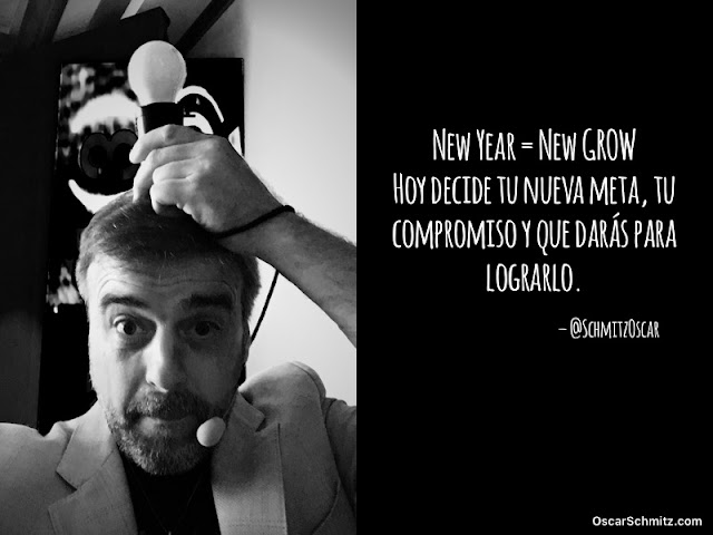 New Year New GROW: Hoy decide tu nueva meta #PensarDiferente #News #Frase