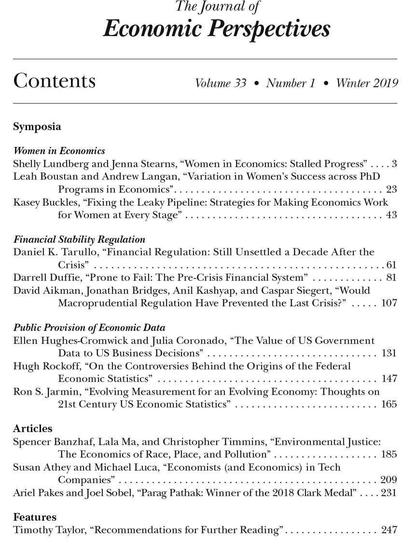 CONVERSABLE ECONOMIST: January 2019
