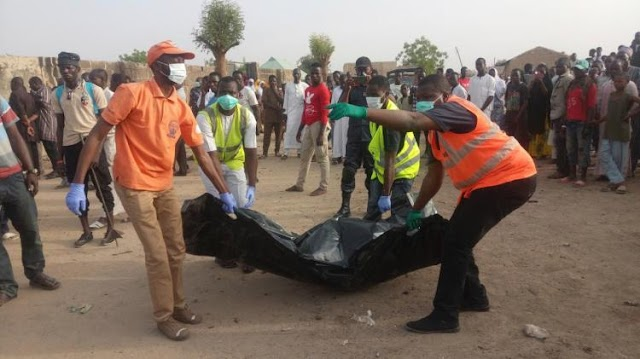 #Terrorism : 14 policemen killed in a grim trap by #BokoHaram ,the terrorist band from Nigeria !