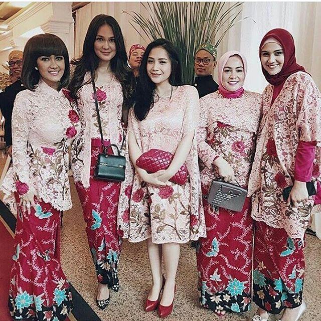 57 Kumpulan Gambar Inspirasi Kebaya Modern Indonesia