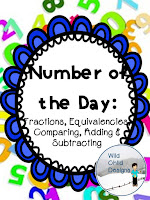https://www.teacherspayteachers.com/Product/Fractions-Number-of-the-Day-Fractions-Equivalencies-Comparing--2233613