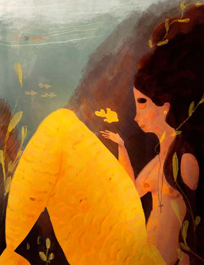 Ilustración de Orlando Korzo
