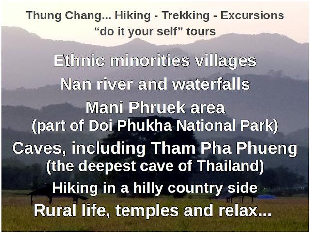 Nan province trekking