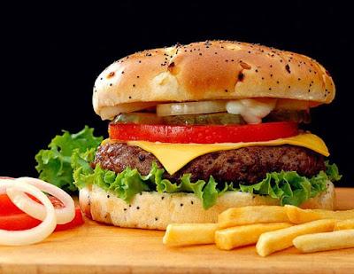 cara membuat burger sendiri di rumah