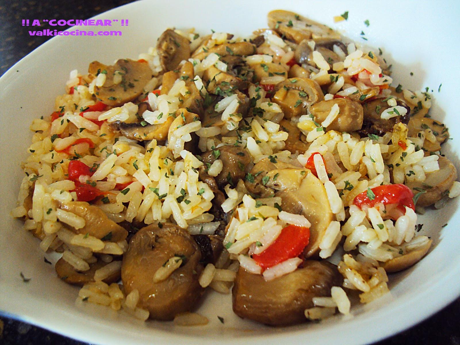 guarnición de arroz rápida