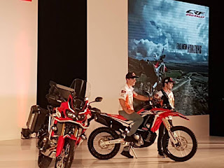 Wuuuihh...Trail CRF Seri 2017 Di-launching Bareng Pedrosa Dan Marquez