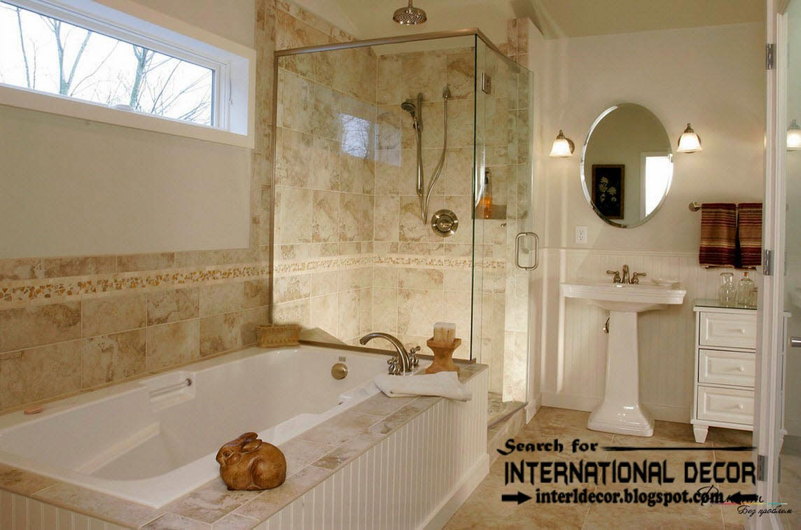 Awe Inspiring Latest Beautiful Bathroom Tile Designs Ideas 2016 Largest Home Design Picture Inspirations Pitcheantrous