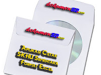 Aplikasi Cetak SKHU Sementara Format Excel