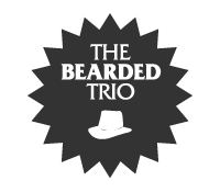 the bearded trio logo