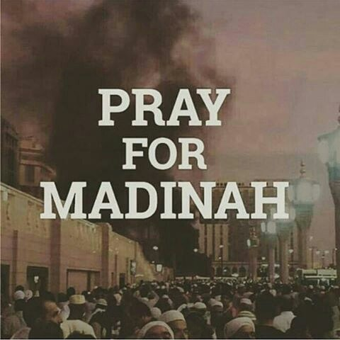 Gambar DP BBM Pray for Madinah dan Pray for Nabawi