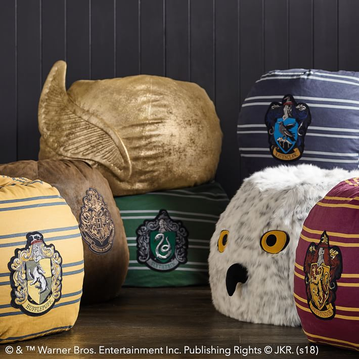 Pottery Barn Harry Potter Beanbags
