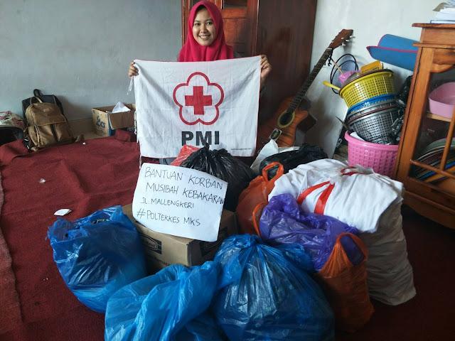 UKM KSR-PMI Unit 127 Galang Donasi Untuk Korban Kebakaran