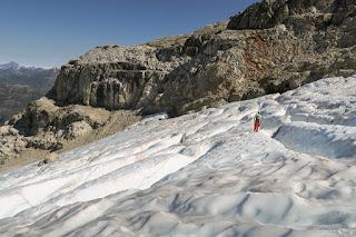 Big Interior Glacier, melting before our eyes