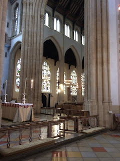 View of Interior of St Edmondsbury Cathedral