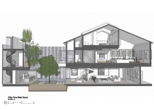 Desain Jais Traditional Art Deco Shop House Renovation By