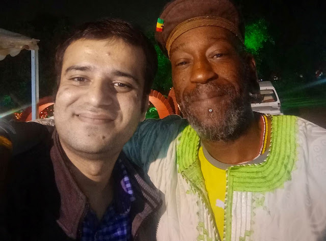 A rendezvous with the world famous British storyteller of Guyanese origin Godfrey Duncan aka TUUP