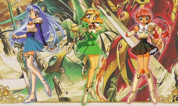 Resultado de imagem para as guerreiras magicas de rayearth resumo