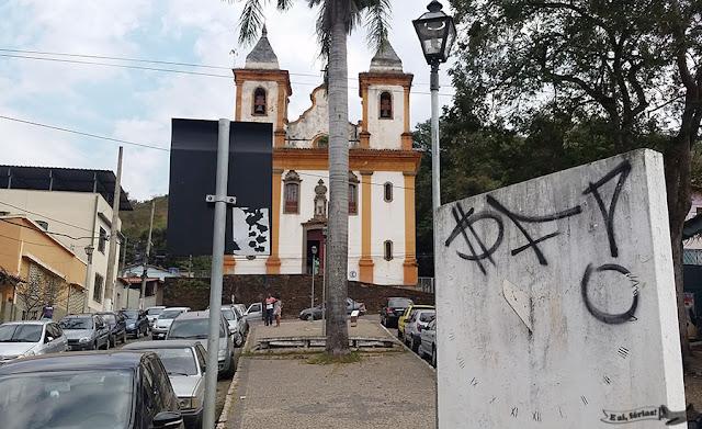 Sabará, Estrada Real, Caminho Sabarabuçu, Igreja São Francisco de Assis