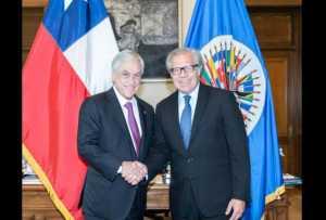 Almagro, sobre declaraciones de Piñera: En Venezuela no existe el Estado de Derecho