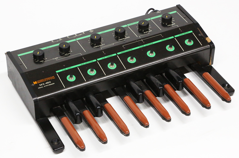 matrixsynth 1970 multivox mx 450 vintage analog synth bass pedal sn 00476. Black Bedroom Furniture Sets. Home Design Ideas
