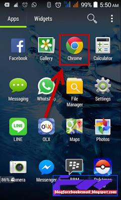 cara menghapus riwayat browser android