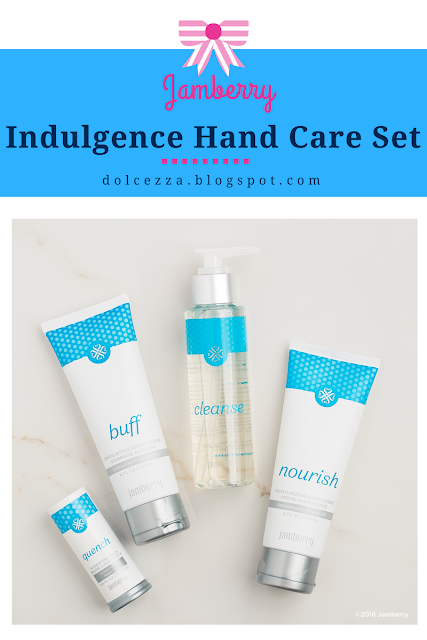 jamberry indulgence hand care set