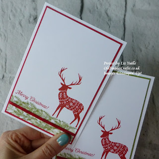 Merry Patterns Stampin Up Christmas Card