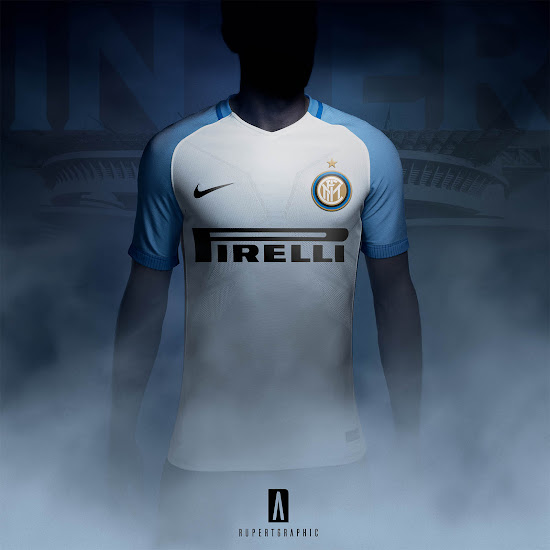 the latest e1221 89f54 Here is How The New Nike Inter Milan 17-18 Away Kit Will ...