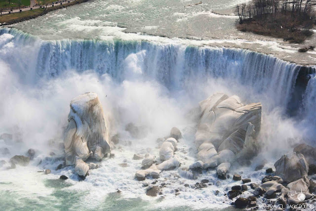 My Travel Background : 4 jours au Canada - Les chutes du Niagara gelées