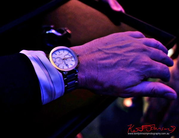 Kent Modelling the Piaget Polo S Watch - Beta Bar Sydney - Photographed by Kent Johnson for Street Fashion Sydney.