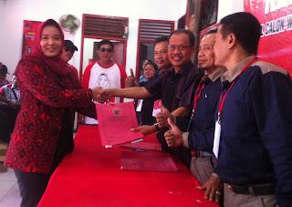 PDI Perjuangan Jaring Enam Kandidat Walikota dan Wakil Walikota Mojokerto