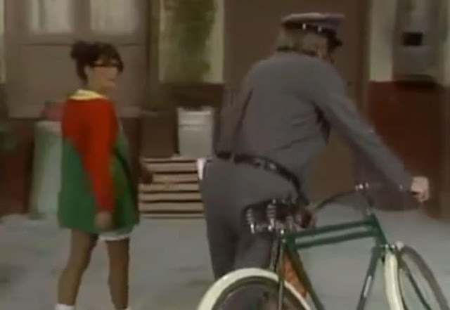 A bicicleta