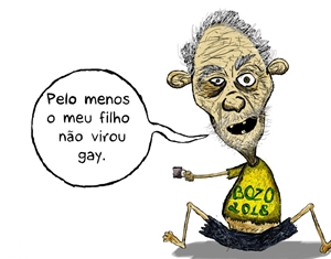 A CHARGE DO DIA: