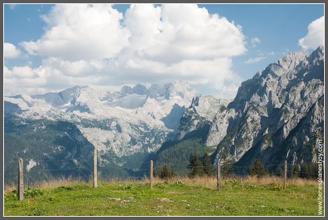 Paseo por zona alta Gosausee (Austria)