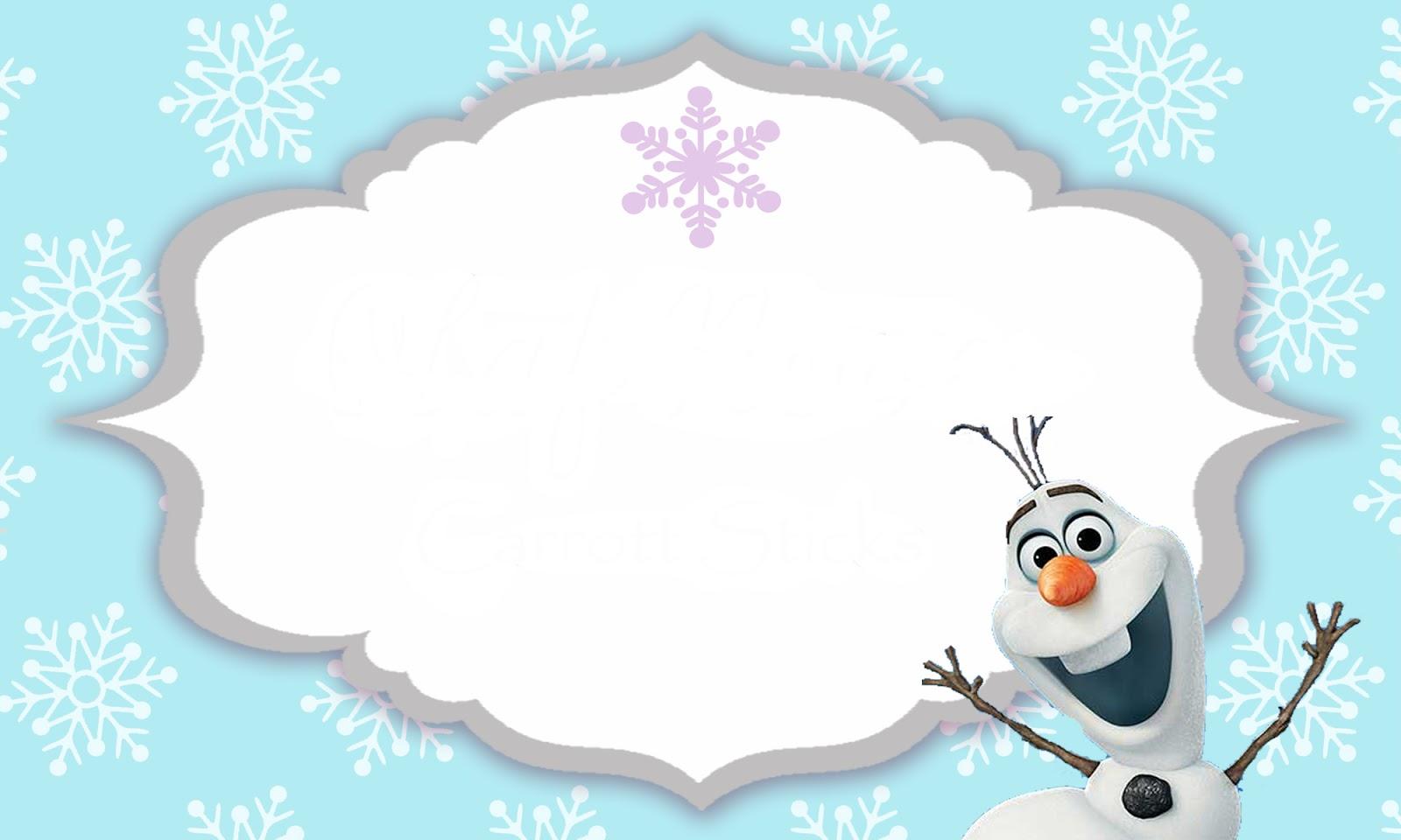 Convite Para Festa Frozen Gratis Guia Tudo Festa Blog De