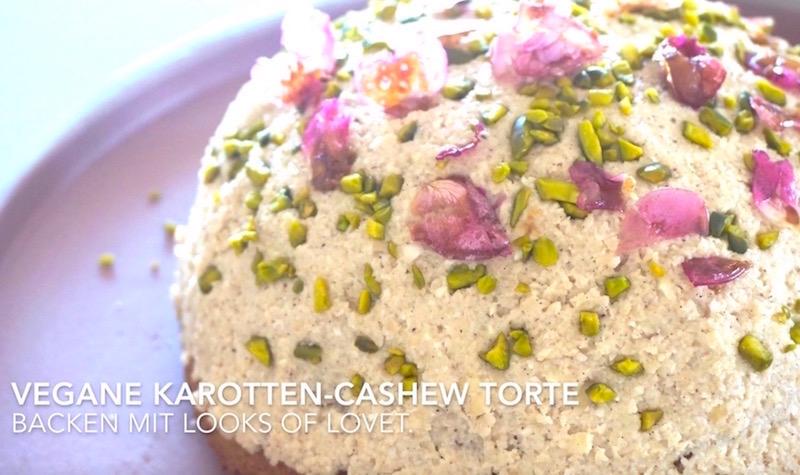 Karotten Cashew Torte Vegan Glutenfrei Und Gelingt Einfach