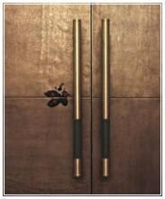 model gagang pintu dua