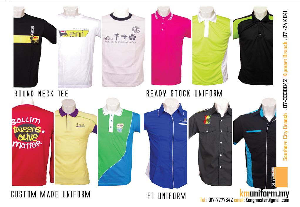Uniform Supplier In Johor Bahru, KM Uniform