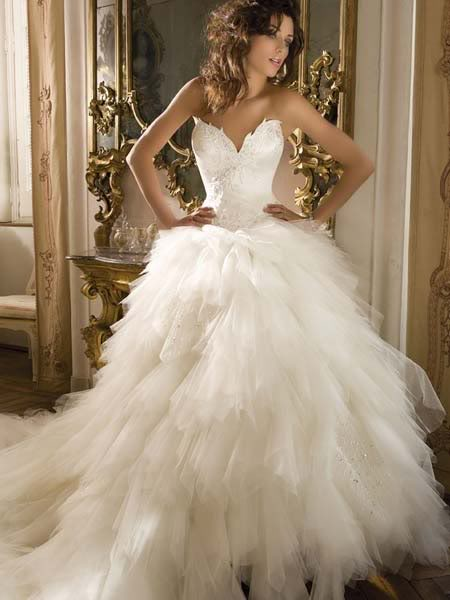 Puffy White Wedding Dress Designs Wedding Dress