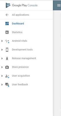 Check the total number of Android Application installs in Google Play Console